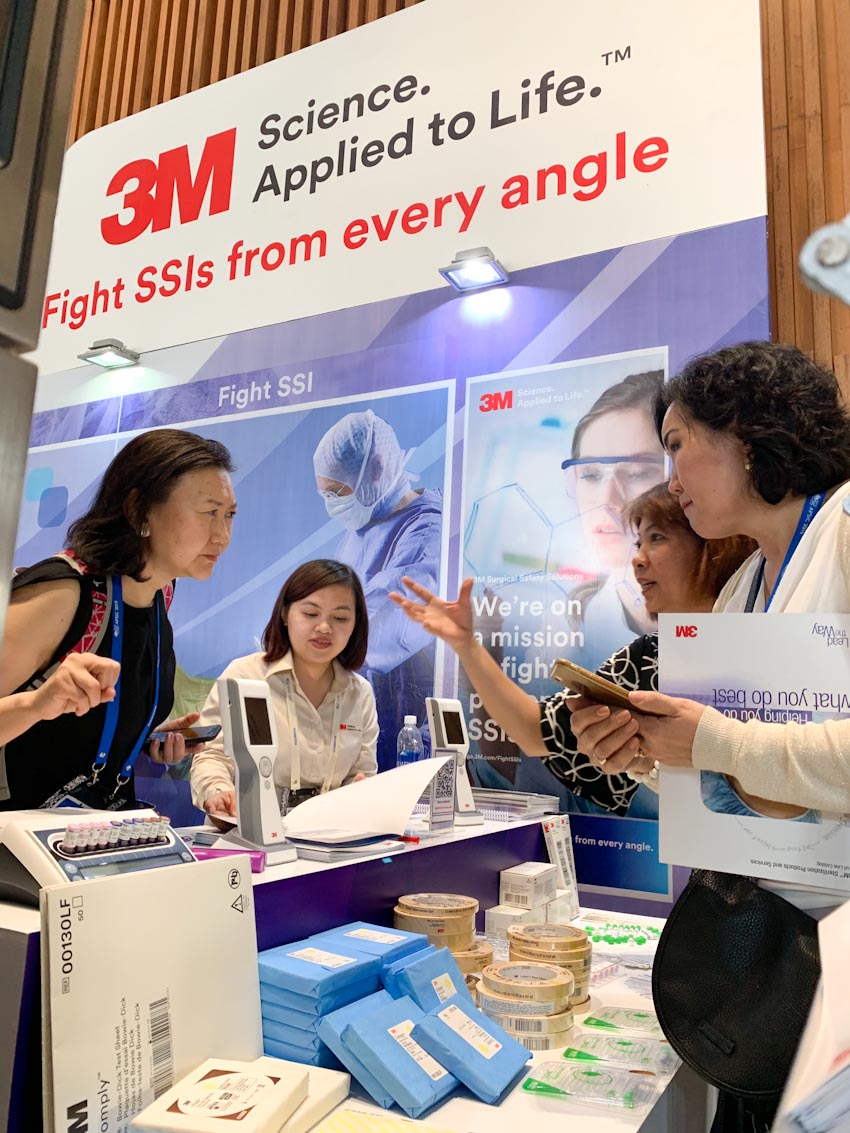 3M đồng hành cùng Hội nghị khoa học Kiểm soát nhiễm khuẩn Châu Á-Thái Bình Dương lần thứ 9 (APSIC 2019) 3