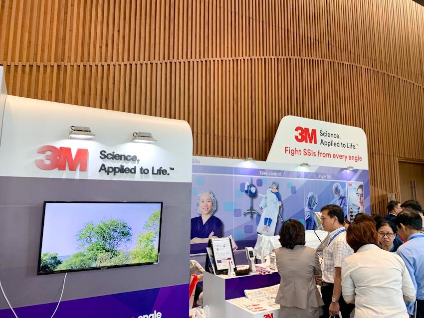 3M đồng hành cùng Hội nghị khoa học Kiểm soát nhiễm khuẩn Châu Á-Thái Bình Dương lần thứ 9 (APSIC 2019) 1