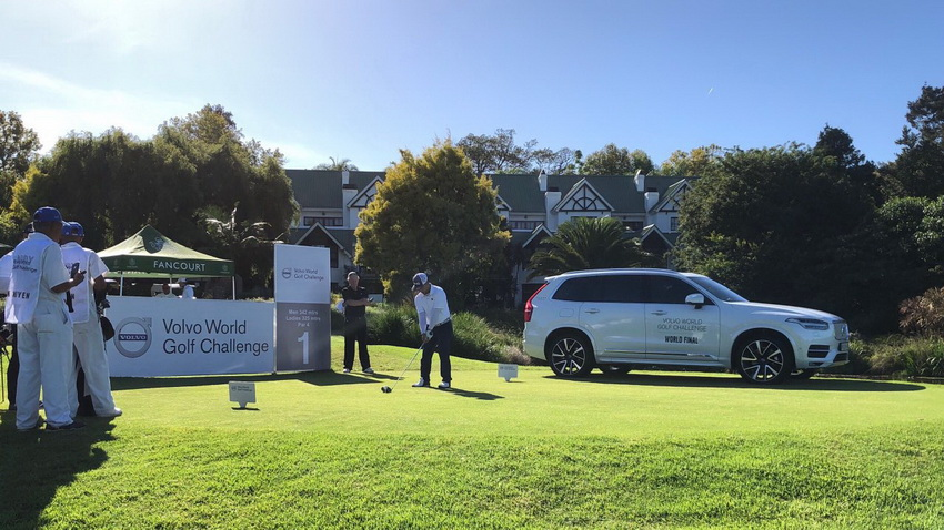 giải Volvo World Golf Challenge 2019