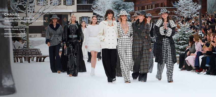 show diễn Bộ sưu tập Chanel Thu-Đông 2019/2020