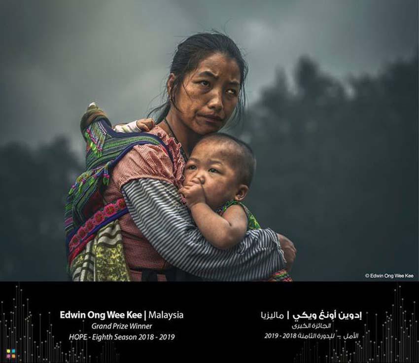 Bức ảnh được chụp tại Việt Nam đã giúp nhiếp ảnh gia người Malaysia Edwin Ong Wee giành giải thưởng cao nhất tại HIPA 2019