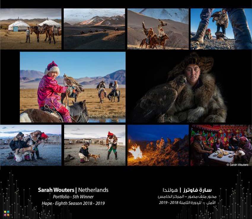 Tác phẩm của nhiếp ảnh gia người Hà Lan Sarah Wouters đạt giải năm