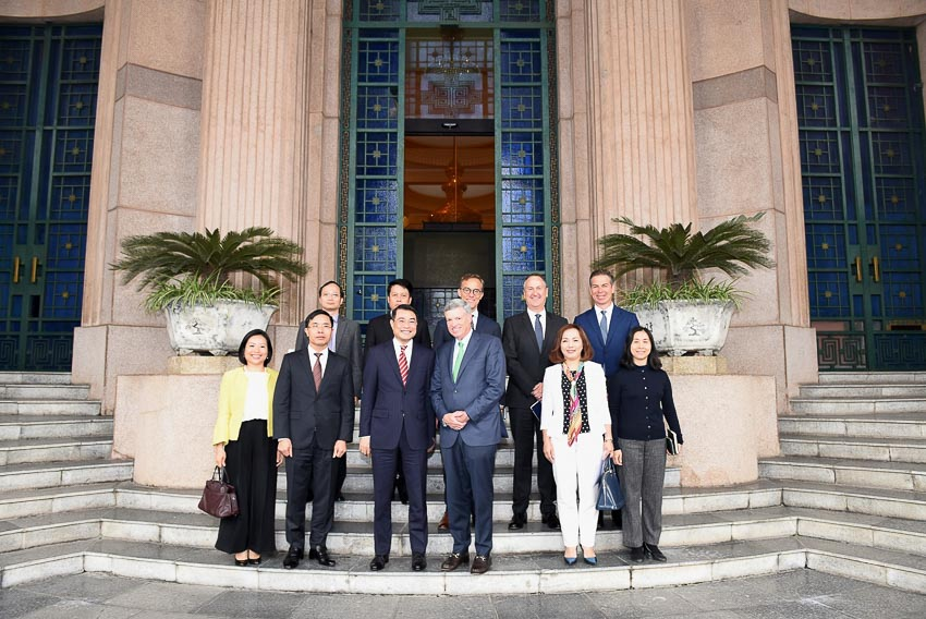 Giám đốc điều hành của Visa và chuyến ghé thăm Việt Nam 1