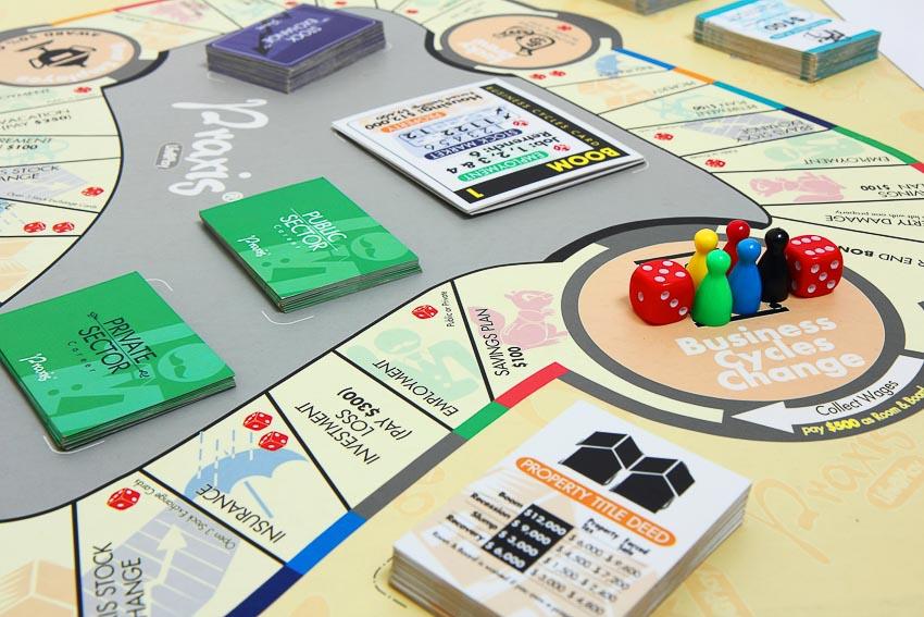 Praxis, trò chơi nhập vai giúp người chơi học cách quản lý túi tiền của mình