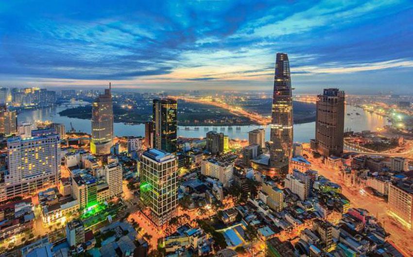 Khoảnh khắc Sài Gòn đẹp lạ thường trong bộ ảnh chụp từ trên cao 4