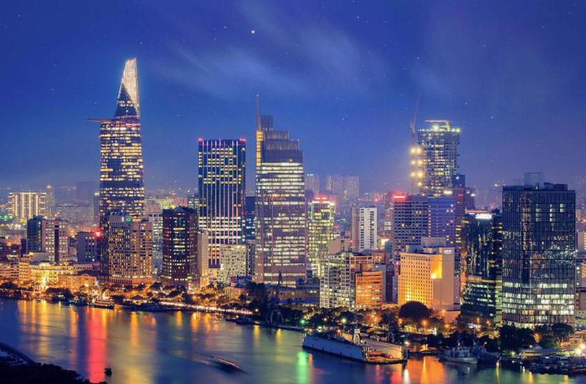 Khoảnh khắc Sài Gòn đẹp lạ thường trong bộ ảnh chụp từ trên cao 6