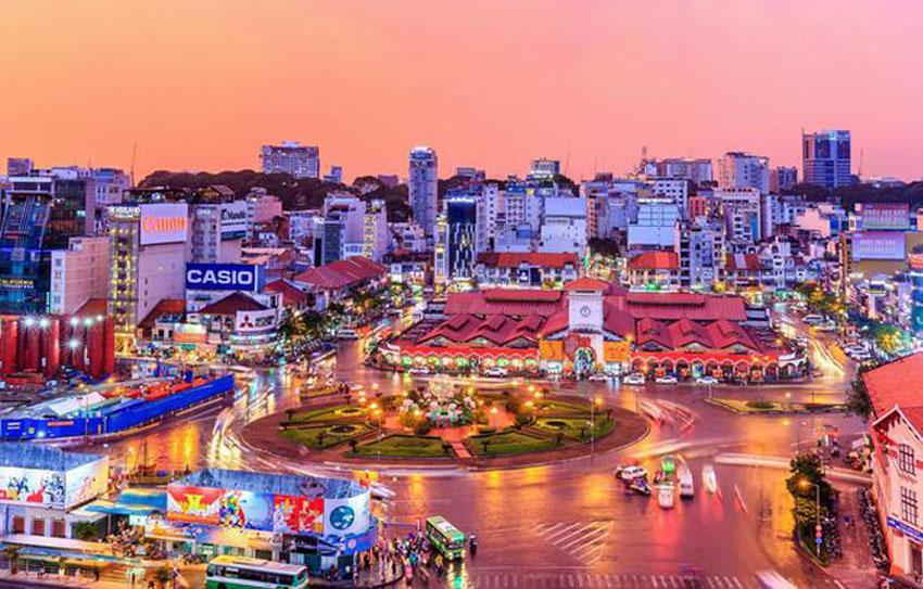 Khoảnh khắc Sài Gòn đẹp lạ thường trong bộ ảnh chụp từ trên cao 14