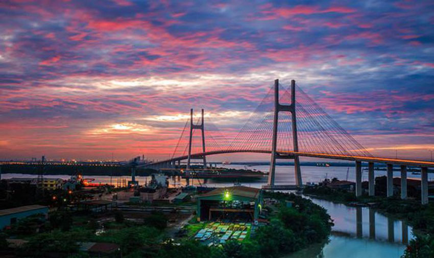 Khoảnh khắc Sài Gòn đẹp lạ thường trong bộ ảnh chụp từ trên cao 13