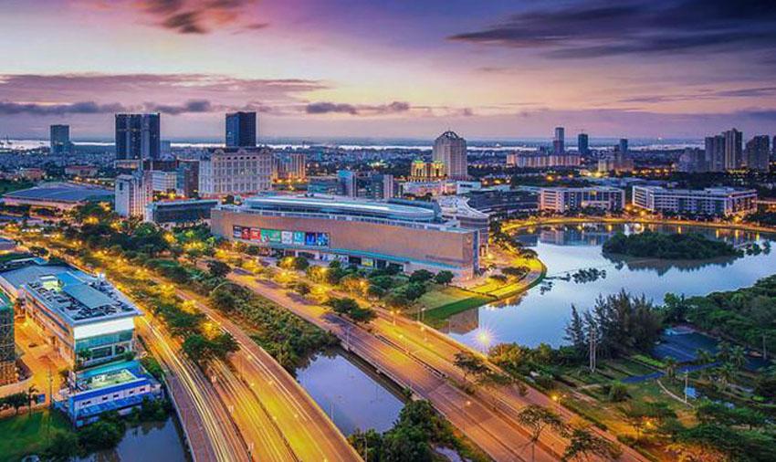 Khoảnh khắc Sài Gòn đẹp lạ thường trong bộ ảnh chụp từ trên cao 17