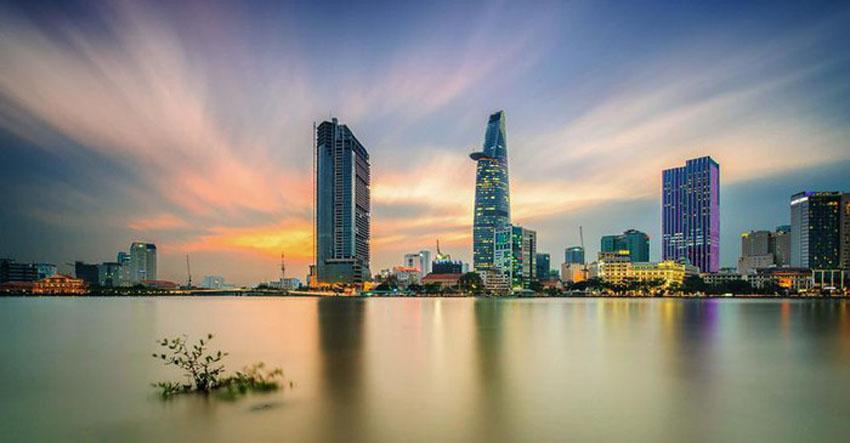 Khoảnh khắc Sài Gòn đẹp lạ thường trong bộ ảnh chụp từ trên cao 16