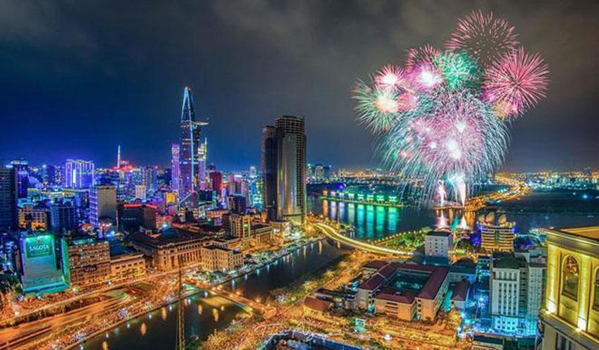 Khoảnh khắc Sài Gòn đẹp lạ thường trong bộ ảnh chụp từ trên cao 22