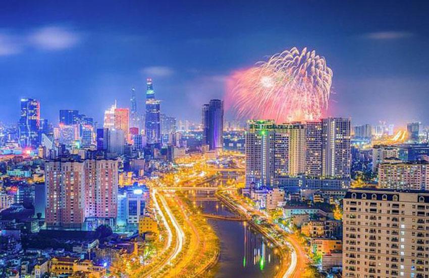 Khoảnh khắc Sài Gòn đẹp lạ thường trong bộ ảnh chụp từ trên cao 21