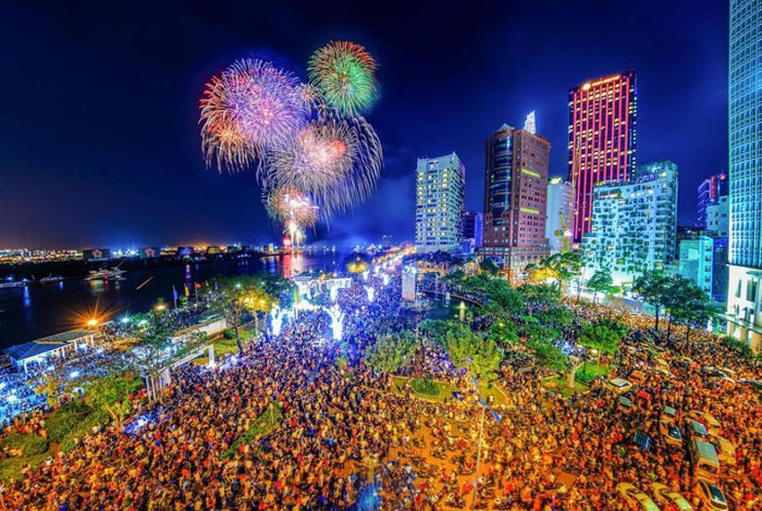 Khoảnh khắc Sài Gòn đẹp lạ thường trong bộ ảnh chụp từ trên cao 20