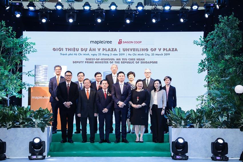 Mapletree giới thiệu tòa tháp đôi văn phòng hạng A tại TP.HCM - Khánh thành tòa nhà căn hộ dịch vụ đầu tiên tại Viêt Nam 1