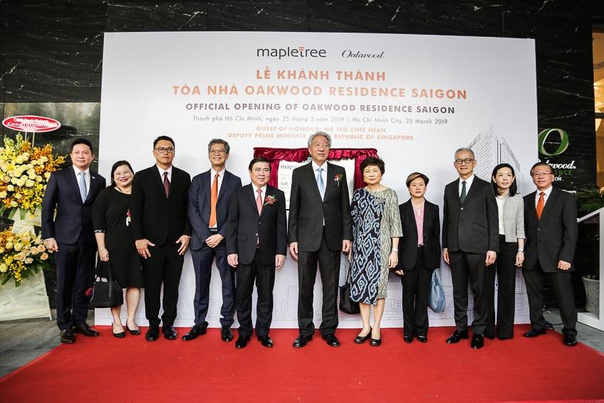Mapletree giới thiệu tòa tháp đôi văn phòng hạng A tại TP.HCM - Khánh thành tòa nhà căn hộ dịch vụ đầu tiên tại Viêt Nam 5