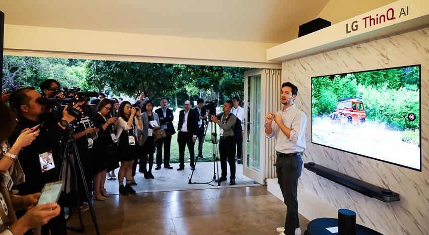LG giới thiệu mô hình LG Home tại sự kiện InnoFest Châu Á 2019 2