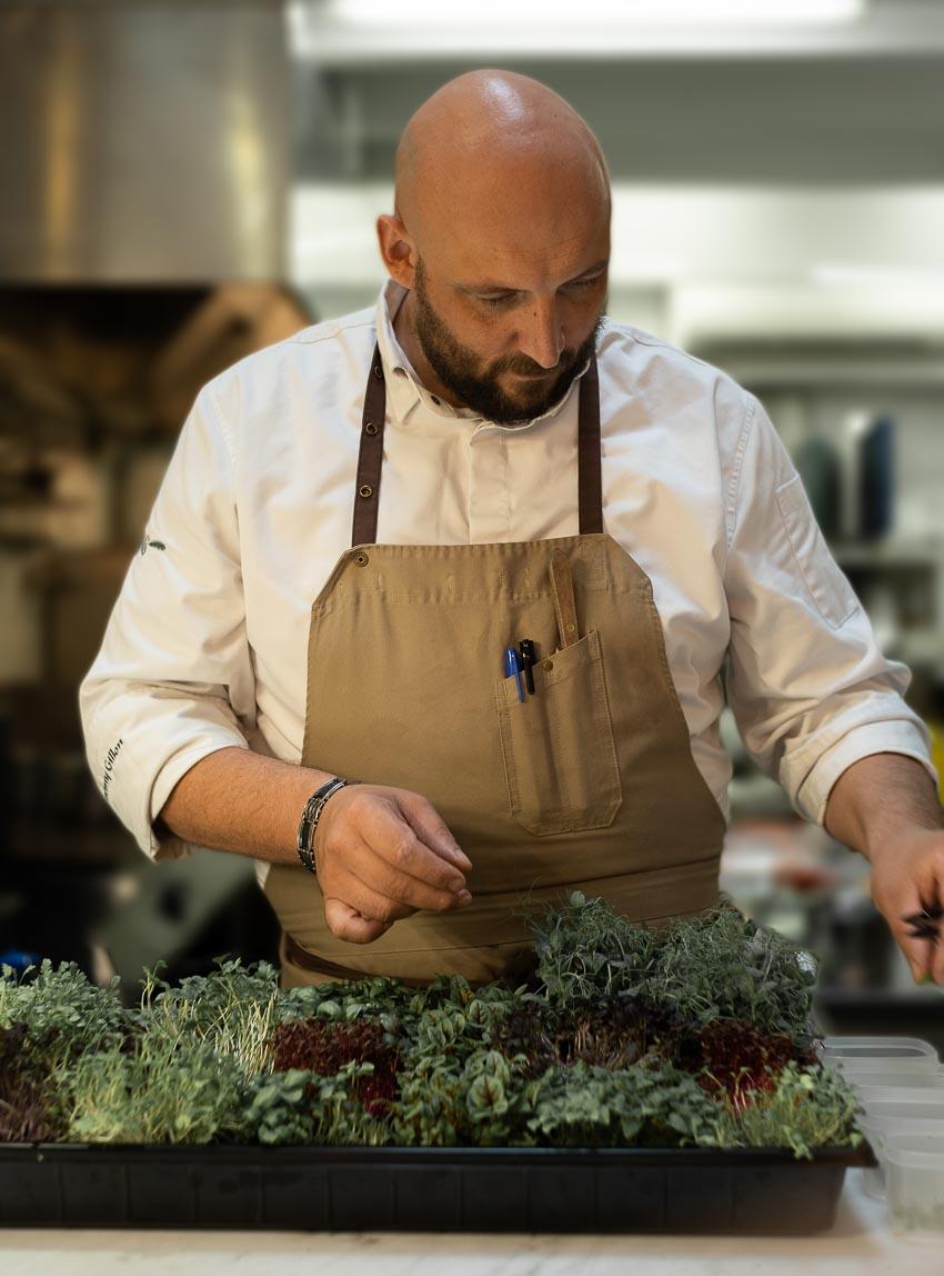 bếp trướng khách mời Jérémy Gillon tại nhà hàng L'Olivier - Sofitel Saigon Plaza 1