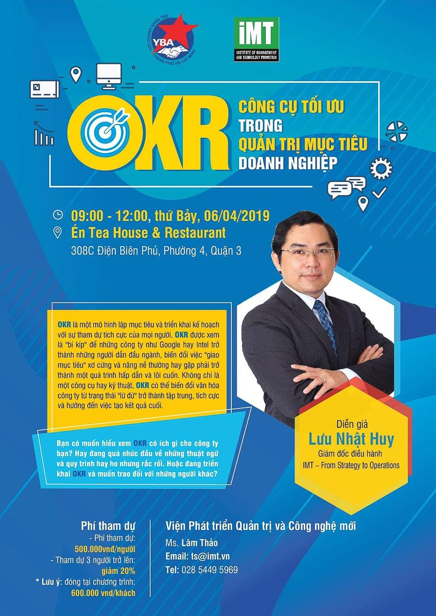 6-4-2019  OKR - Công cụ tối ưu trong Quản trị mục tiêu Doanh nghiệp 1