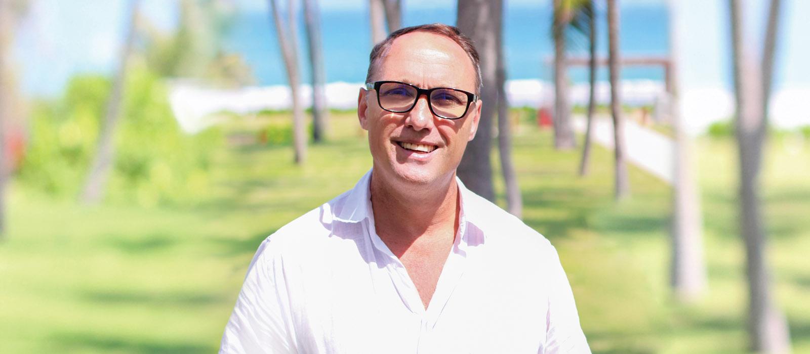 Ông Dawid Koegelenberg - Tổng quản lý Fusion Resort Cam Ranh