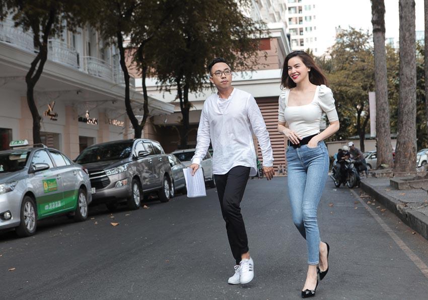 Ca sĩ Hồ Ngọc Hà và nhạc sĩ Nguyễn Hồng Thuận