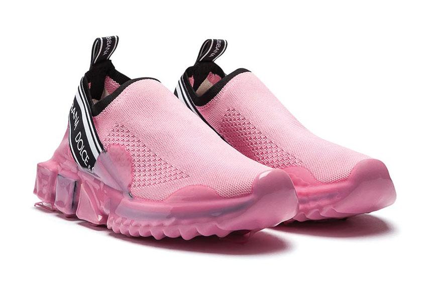 Đôi giày sneaker hồng của Dolce & Gabbana