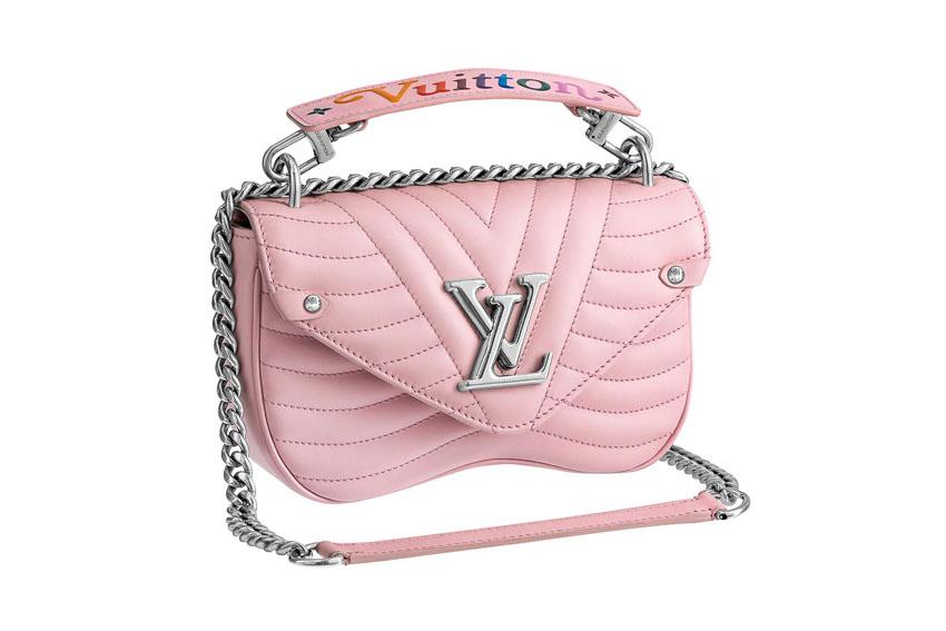 Túi New Wave của Louis Vuitton với màu hồng ngọt ngào