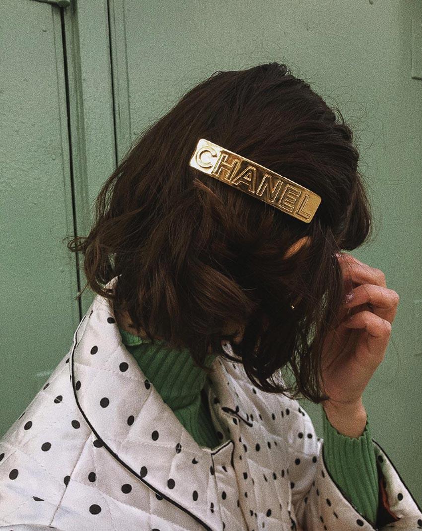Cặp tóc Chanel 1