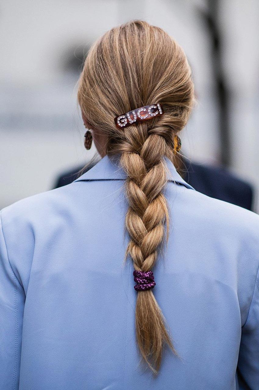 Cặp tóc đồi mồi của Gucci 5