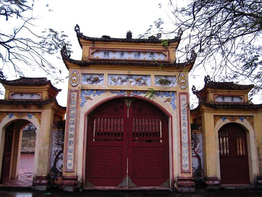 Đình Tiêu Long, một kiến trúc đẹp ở Tương Giang