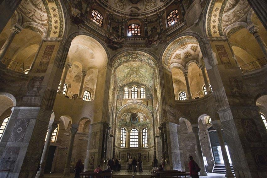 Những thánh đường ở Ravenna đều xứng đáng được coi là kiệt tác nghệ thuật