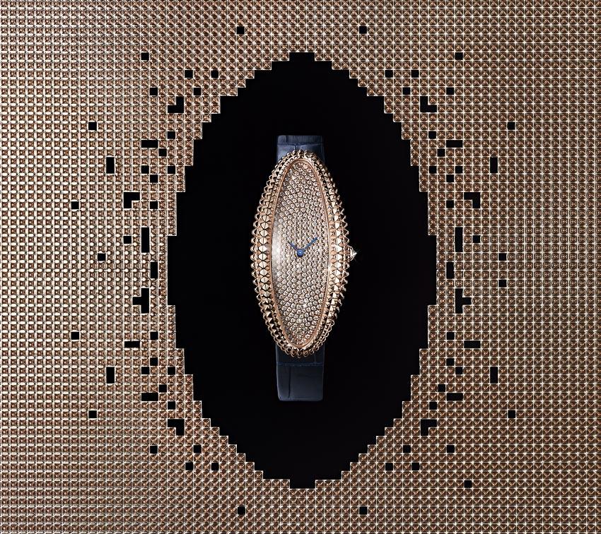 Chiếc đồng hồ kinh điển Baignoire Allongée của Cartier với tạo hình mới mẻ 5