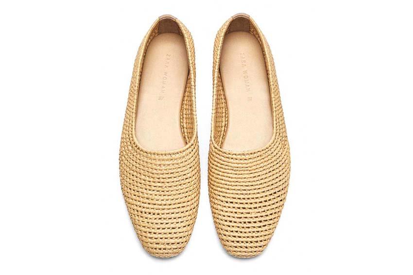 Nét mộc mạc mà hiện đại trên những mẫu giày dép đan lát 6