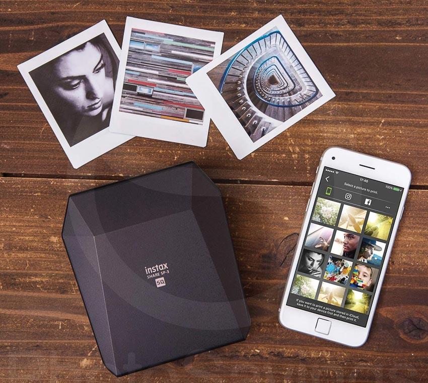 Fujifilm Instax Share SP-3 - máy in ảnh cầm tay