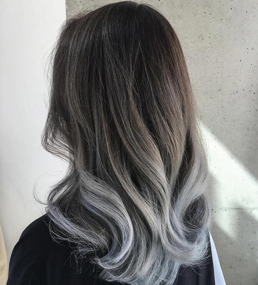 tóc màu ombre