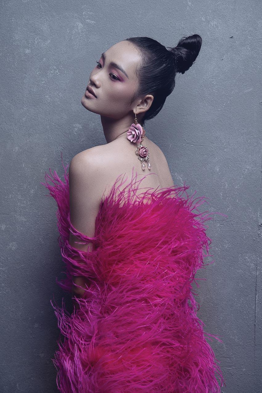 trang phục đa sắc màu của nhà thiết kế Đỗ Mạnh Cường 1