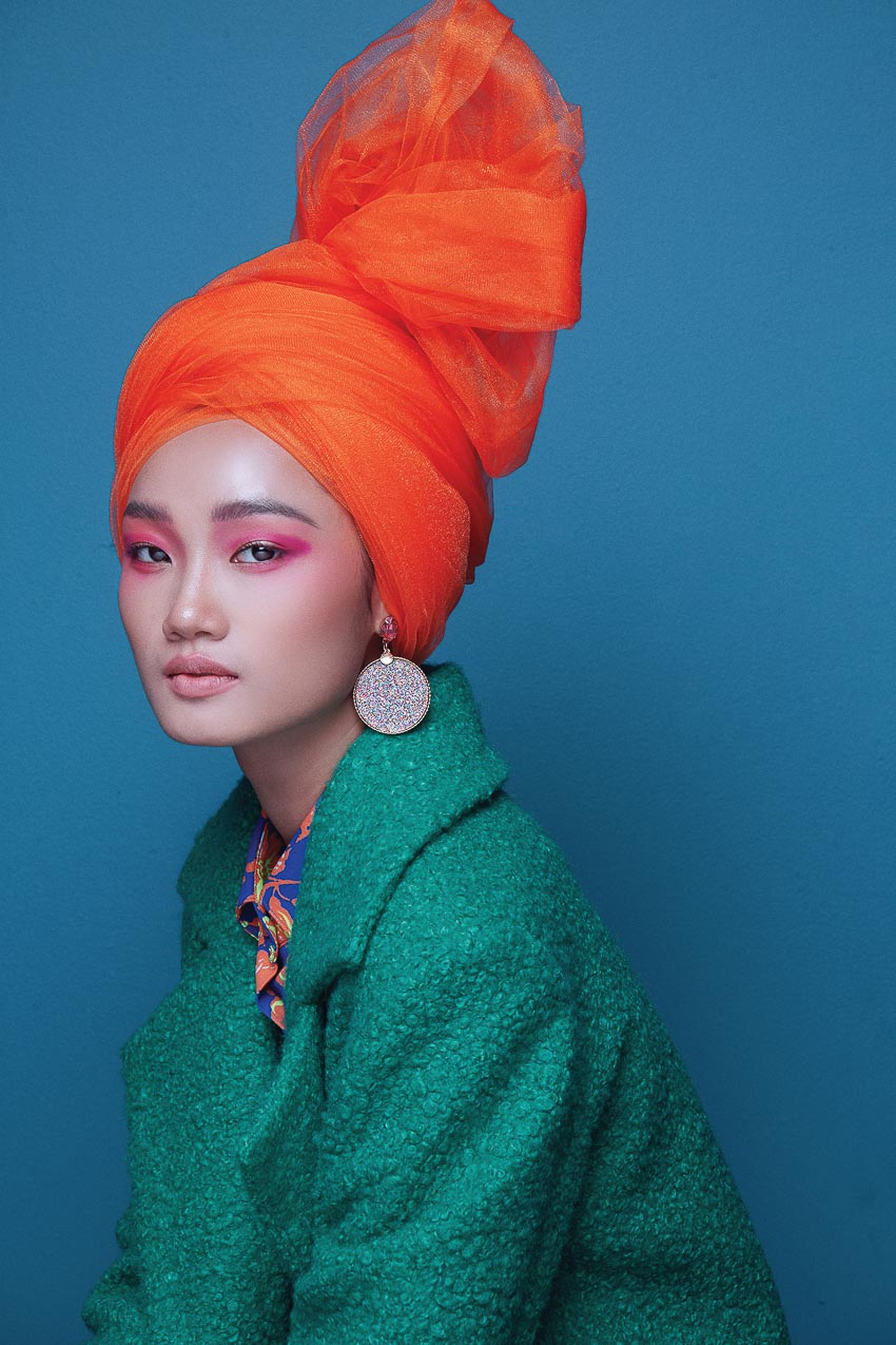 trang phục đa sắc màu của nhà thiết kế Đỗ Mạnh Cường 3