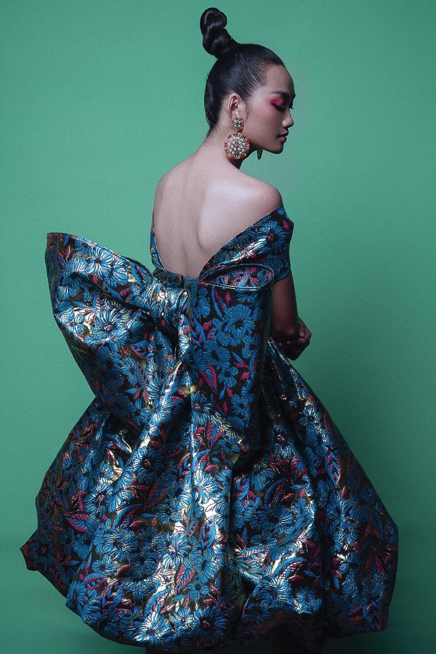 trang phục đa sắc màu của nhà thiết kế Đỗ Mạnh Cường 4