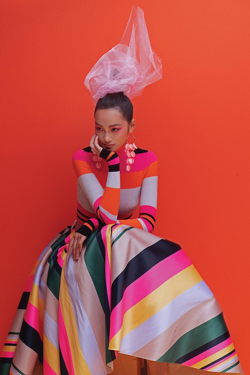 trang phục đa sắc màu của nhà thiết kế Đỗ Mạnh Cường 6