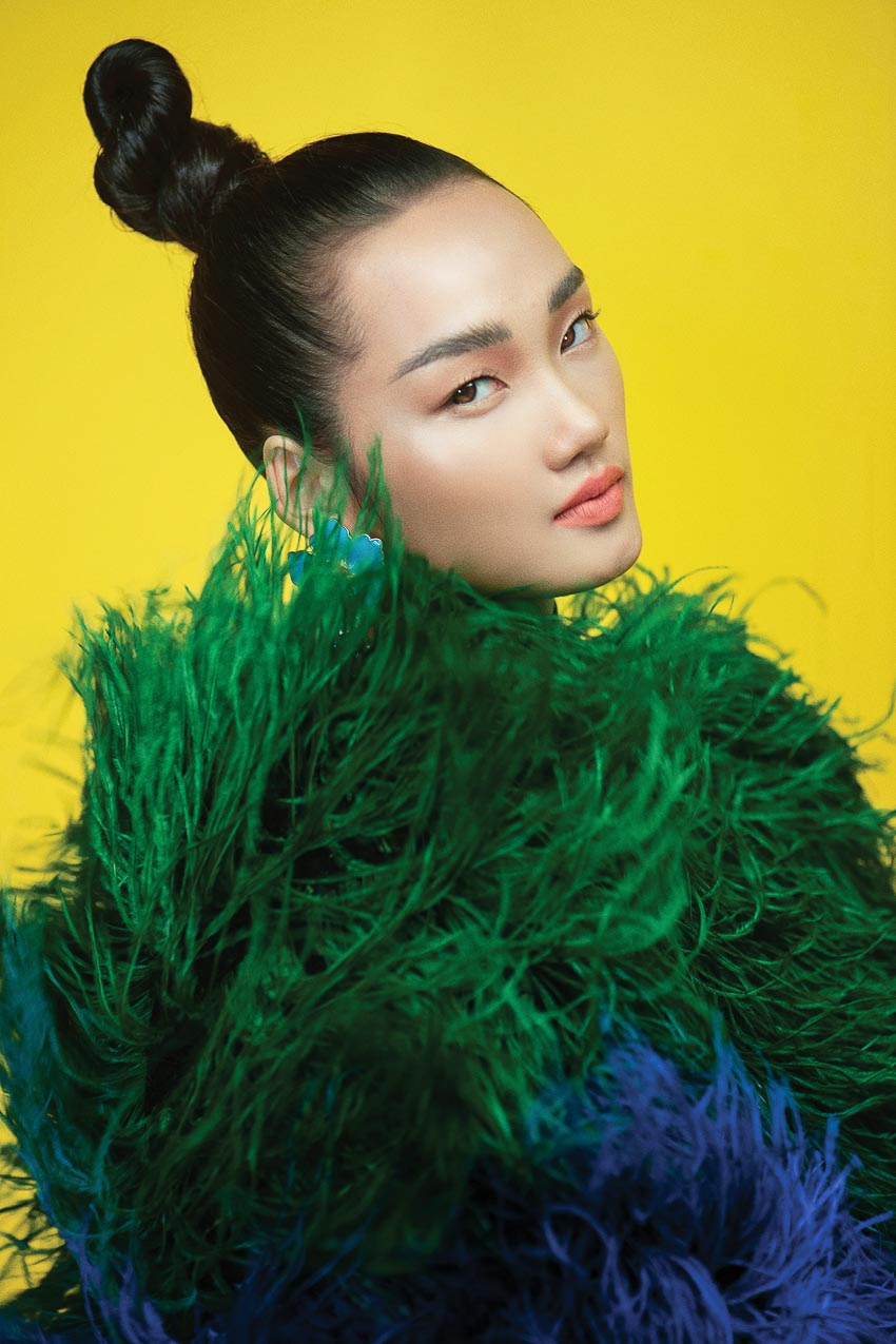 trang phục đa sắc màu của nhà thiết kế Đỗ Mạnh Cường 7