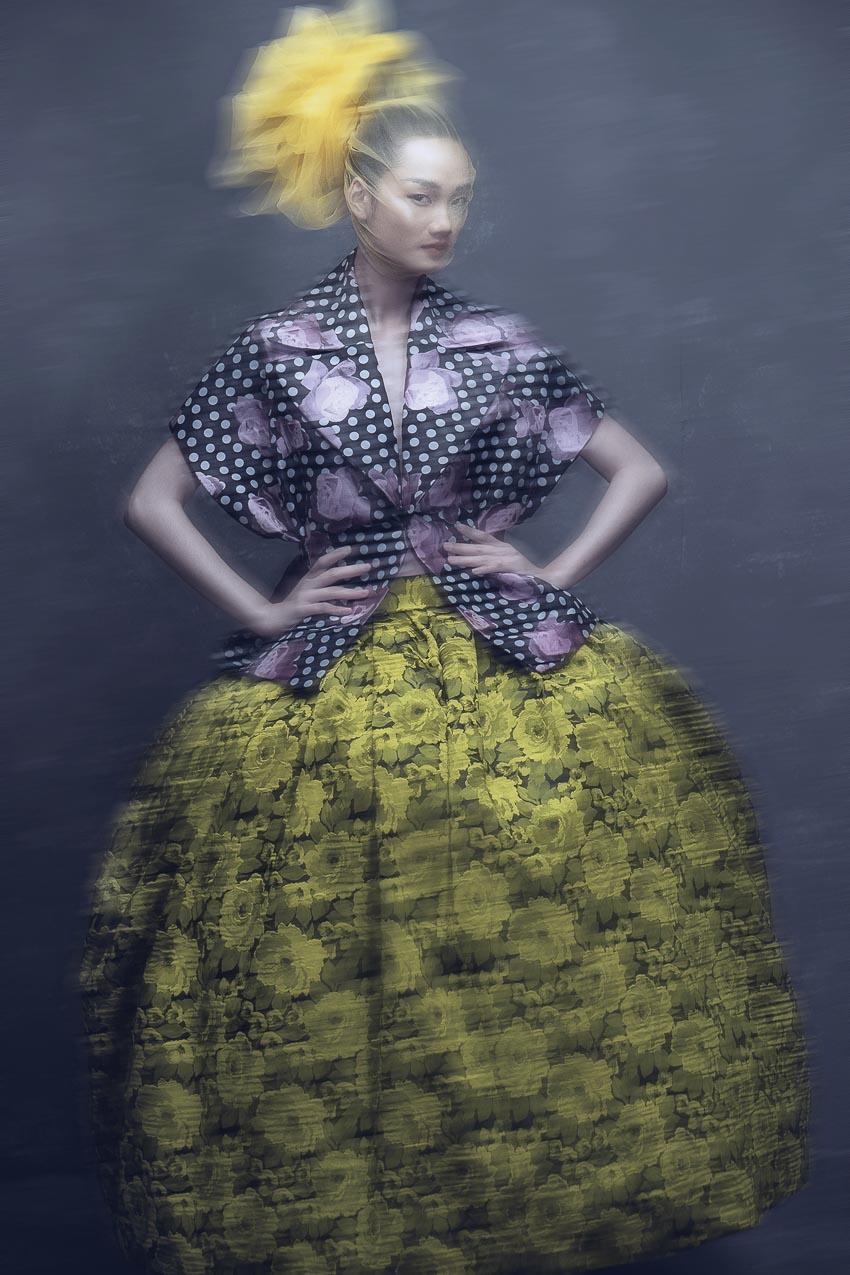 trang phục đa sắc màu của nhà thiết kế Đỗ Mạnh Cường 8