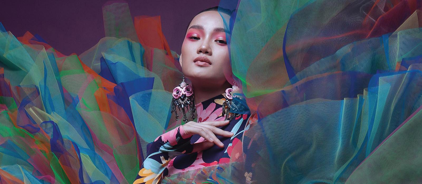 trang phục đa sắc màu của nhà thiết kế Đỗ Mạnh Cường 9