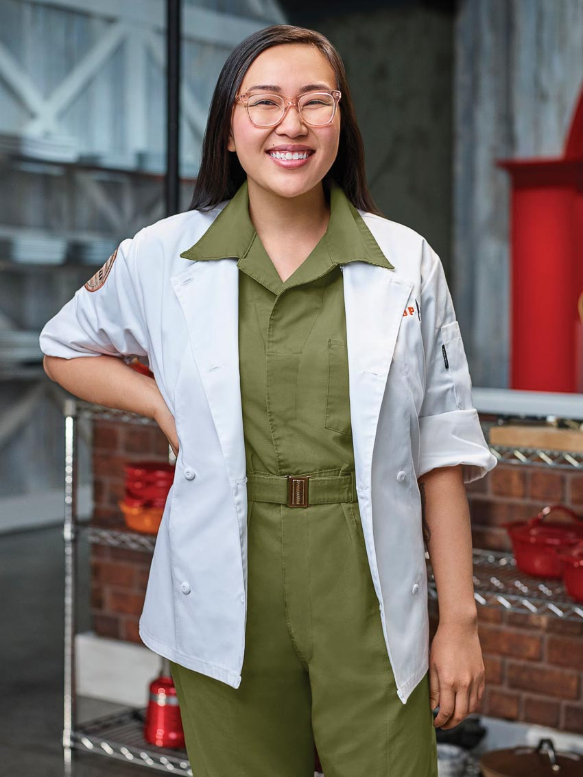 Đầu bếp trẻ gốc Việt Nini Nguyễn