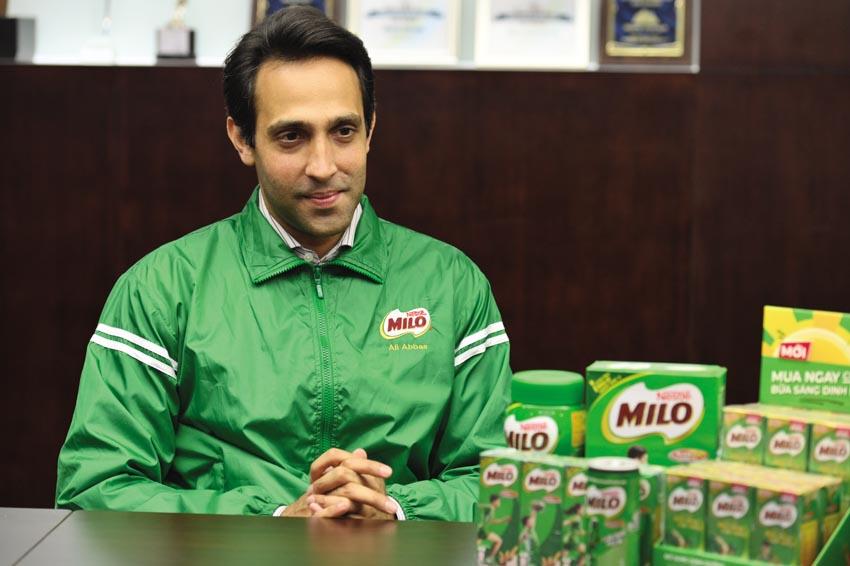 Ông Ali Abbas - Giám đốc ngành hàng MILO và sữa, Nestlé Việt Nam 1