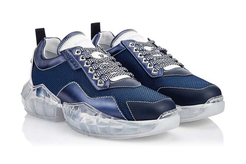 Đôi giày sneaker Diamond của Jimmy Choo