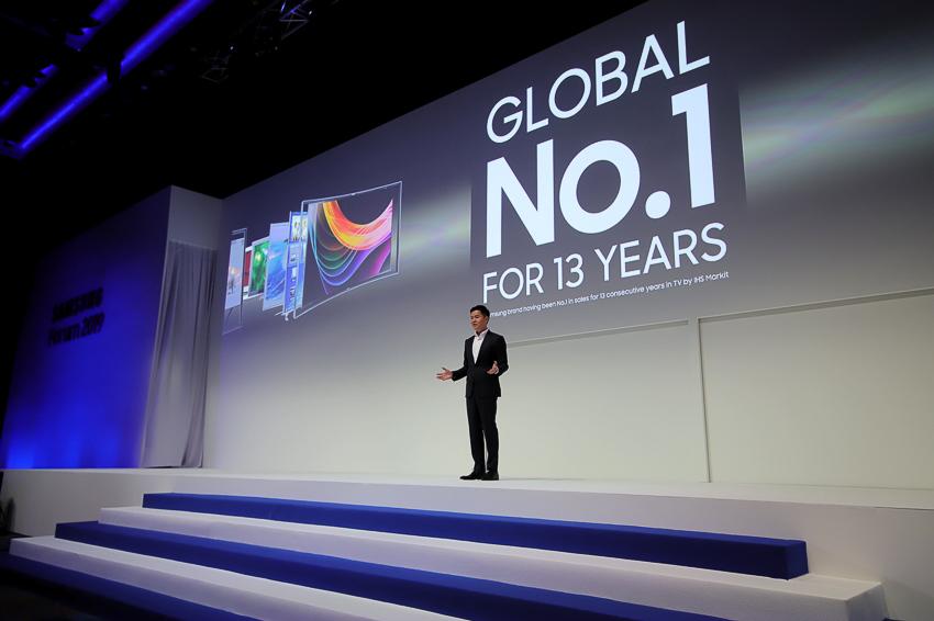 Samsung giới thiệu loạt TV QLED 8K và QLED 2019 tại Diễn đàn SEAO 2019 - photo 02