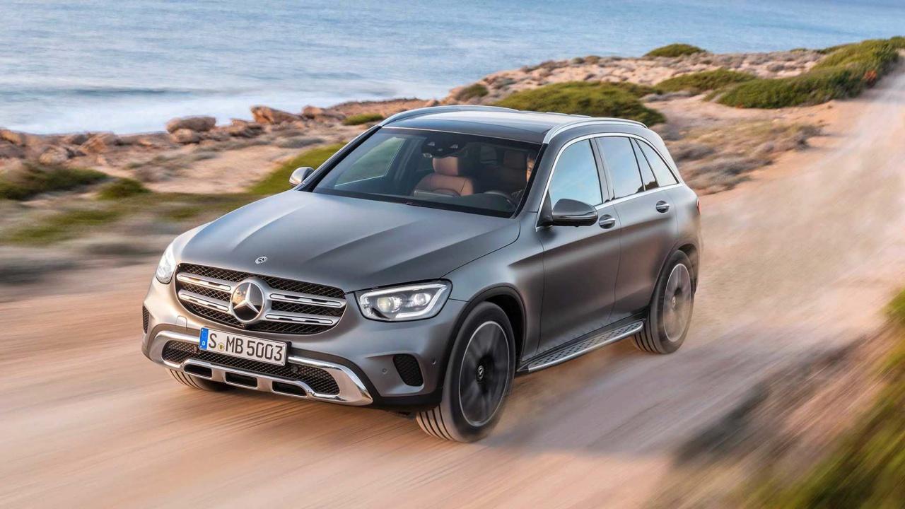 Mercedes trình làng GLC 2020 phiên bản nâng cấp - Anh 1