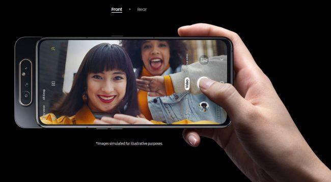 Samsung Galaxy A80 mới, màn hình vô cực với cụm 3 camera trượt và xoay - 07