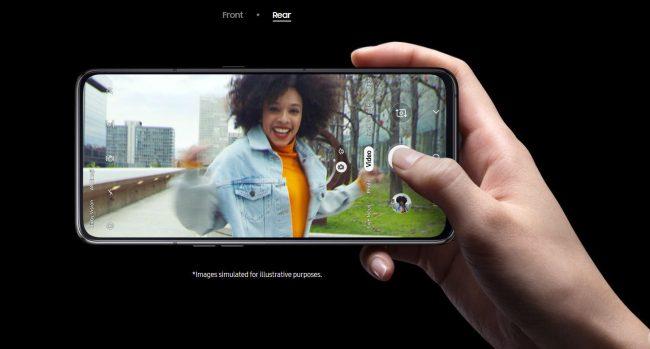 Samsung Galaxy A80 mới, màn hình vô cực với cụm 3 camera trượt và xoay - 09