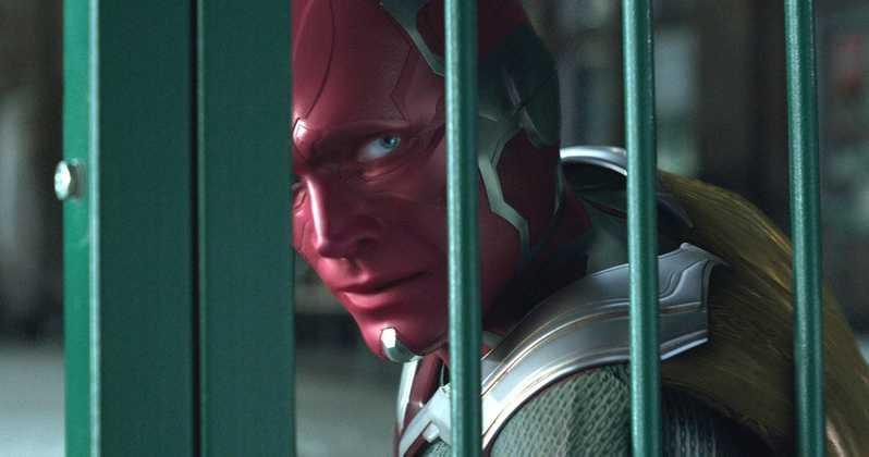 Paul Bettany trong Avengers: Infinity War. Ảnh: Marvel Studios