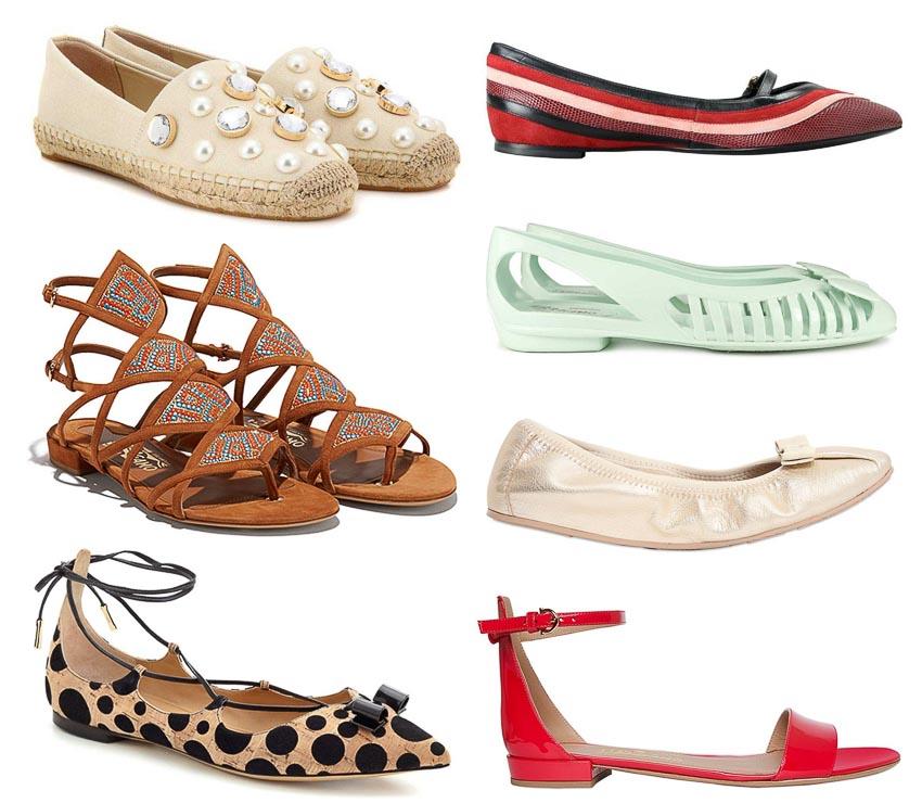4 loại giày đế bệt đồng hành cùng quý cô trong mùa hè 6